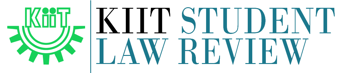 KIIT Student Law Review Logo